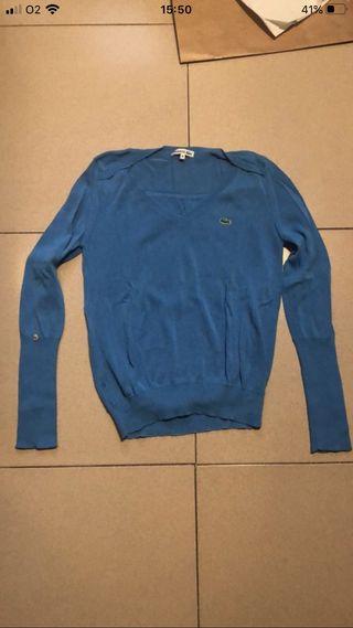 Jersey azul Lacoste