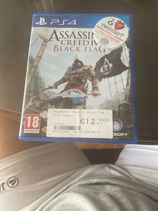 Assassins creed black flag ps 4