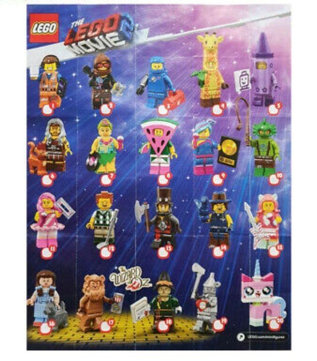 Lego Movie Series 2 Completa