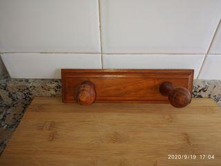 perchero madera