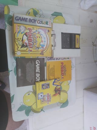 Pokémon Pinball completo Game Boy Color