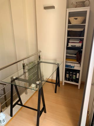 Mesa de cristal para escritorio/despacho/estudio