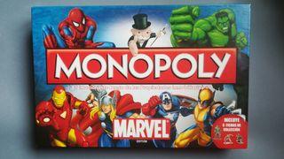 Monopoly Edición Marvel para jugar en familia