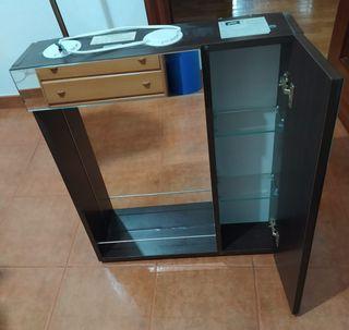 armario espejo de baño con luz