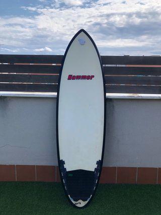 Tabla surf epoxy Réplica hypto krypto 6,4 - 42,2L