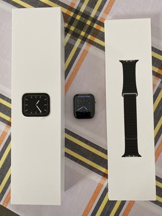 Apple Watch Series 5 Acero 44mm GPS + cellular