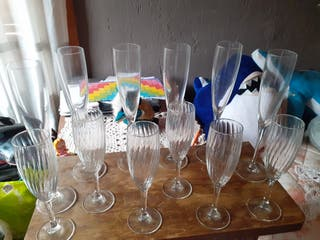 vasos cristal varios