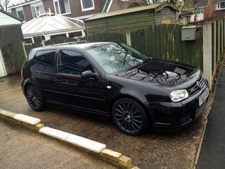 LLANTAS Volkswagen r32 edición limitada negro R18
