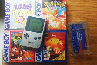 Game Boy Pocket + 4 juegos