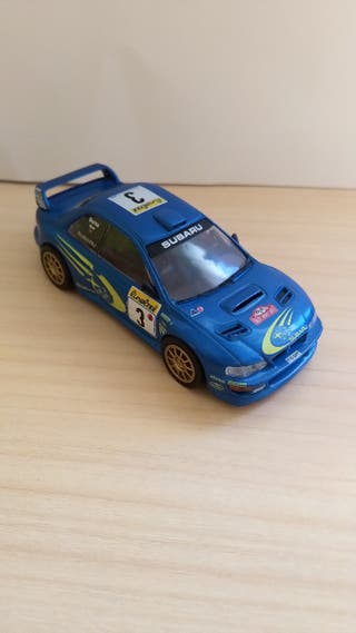 Subaru Impreza WRC coche a escala 1:43