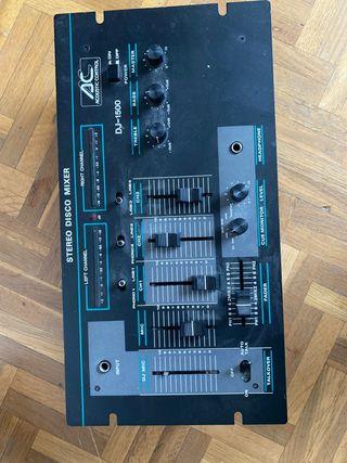 Mesa de mezclas Acustic Control DJ-1500