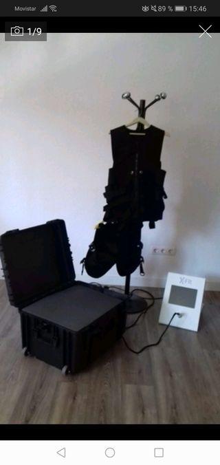 Chaleco de electroestimulacion y training