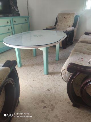 Mesa central de salon