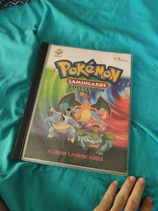 album lamincards pokemon cromos cartas