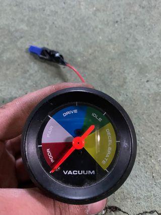 Reloj de vacío