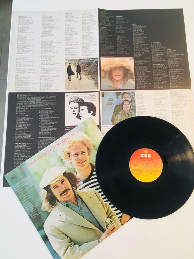 SIMON AND GARFUNKEL Disco Vinilo LP