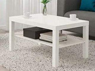Mesa lack Ikea color blanco