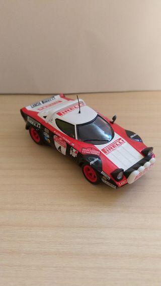 Lancia Stratos coche a escala 1:43