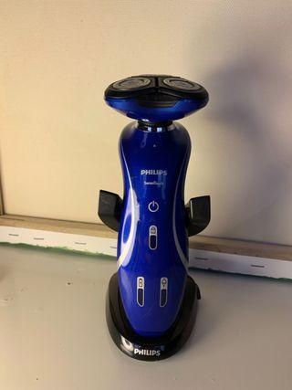 Afeitadora eléctrica para uso en húmedo y seco