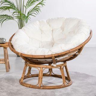 Papasan, Sillon bambú natural