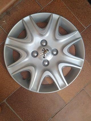 tapacubos Peugeot 207 15 pulgadas