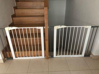Barrera seguridad escaleras