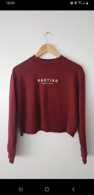 Sudadera corta de Kaotiko