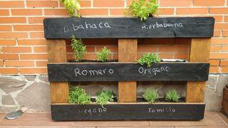 jardinera de palet