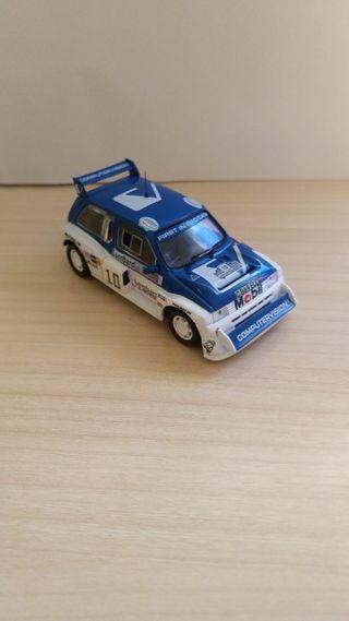 MG Metro WRC coche a escala 1:43