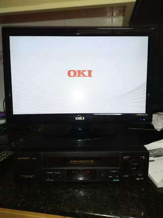 TV Oki y video Sharp