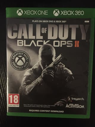 Call of duty black ops 2 Xbox one / Xbox 360