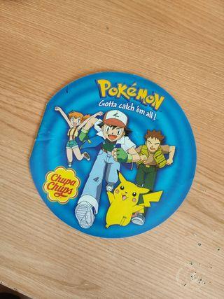Album pegatinas chupa chups pokemon