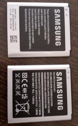 Dos BATERÍAS MÓVIL Samsung Galaxy Ace