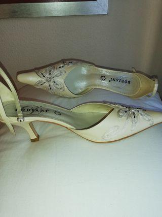 zapatos novia. número 39