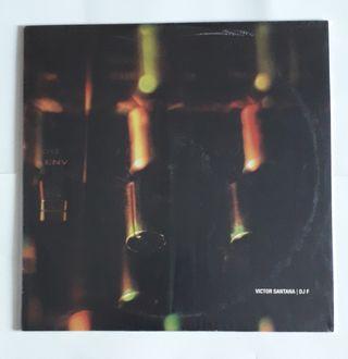vinilo techno Victor Santana & Dj F
