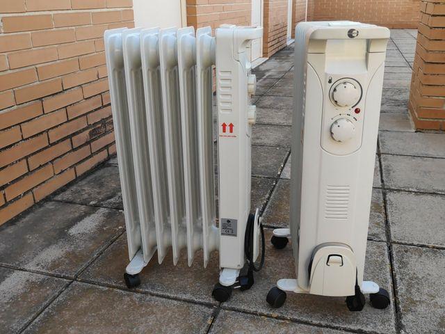 radiadores de aceite nuevos.