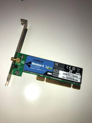 Tarjeta de red inalámbrica PCI LINKSYS