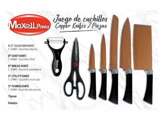 Set De Cuchillos MPC1 Cooper Black