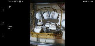 beautiful tea cup set
