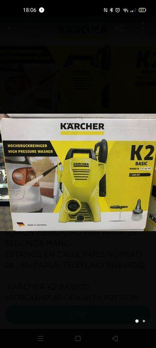Hidrolimpiadora Karcher k2