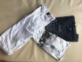 Camisetas marca : hollister, scalpers , replay