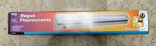 Regleta Fluorescente Daher, 3 unidades