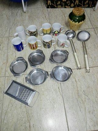 17 piezas de cocina