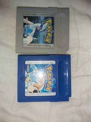 Pokémon Plata y Pokémon Azúl