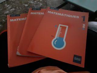 Llibres matematiques 1 ESO.