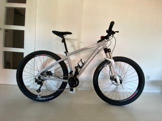 "Bicicleta BTT ST 540 Mujer Gris ""S"""