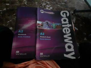 Gateway books A2, student's book y workbook.