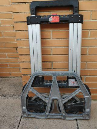 carretilla maletas, herramientas, maquinas air.
