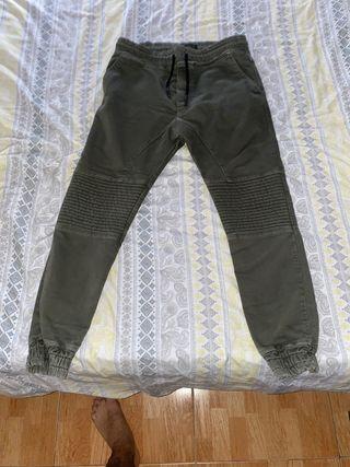 Pantalón cagado del Zara