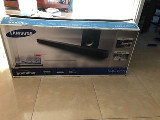 Sistema Samsung de audio para Tv